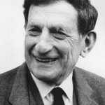 Photo of Professor David Bohm,
