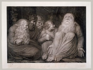 Job's tormentors, from William Blake's illustrations for the Book of Job.